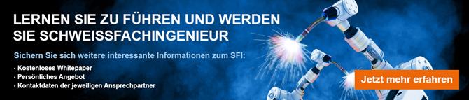 Banner Schweissfachingenieur